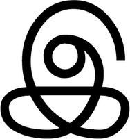 Dies ist das hübsche Zeichen für 'i' in Tamil. Sehr schnörkelig.