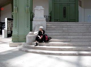 Wie gesagt war auch die Architektur des Grand Palais an sich schon einen Besuch wert.