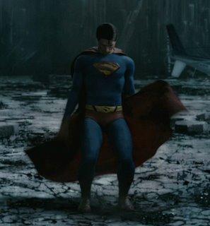 Ist es Neo? Ist es eine Actionfigur? Neeeiin, es ist SUPERMAN!