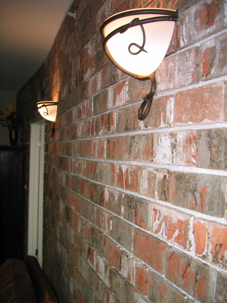 Installing An Interior Brick Wall Aka The 39 Warehouse 39 Effect Curbly