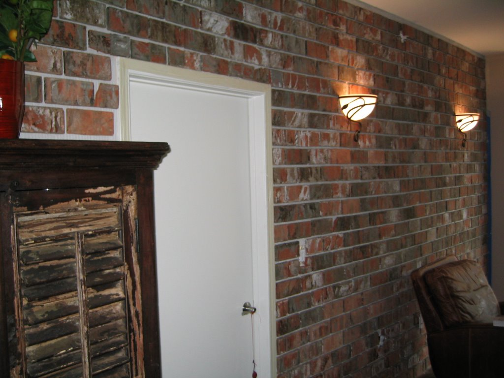 San Diego Downtown Condo: How To Install A Brick Veneer Wall (Part 4)