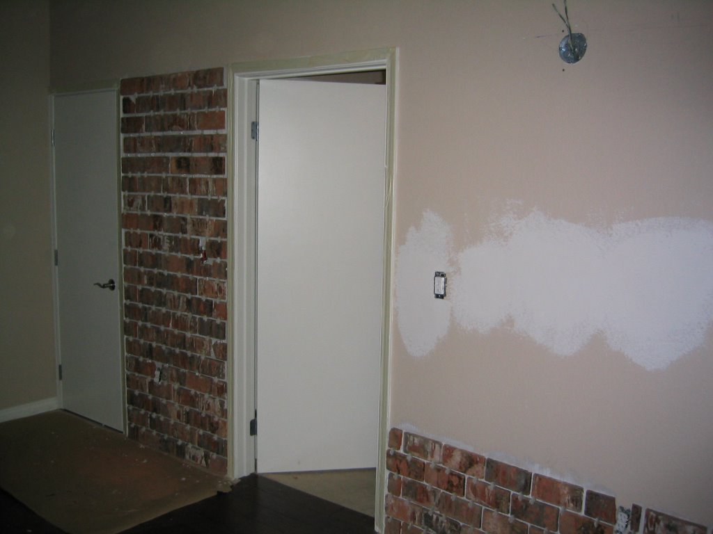 Installing An Interior Brick Wall Aka The 39 Warehouse 39 Effect