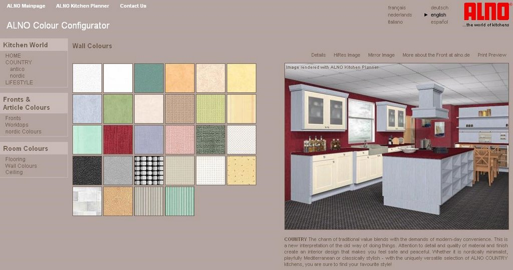 Here 39 s the mother lode of really cool virtual kitchen for Planning a new kitchen
