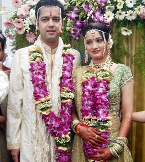 National News : Rahul mahajan ties knot