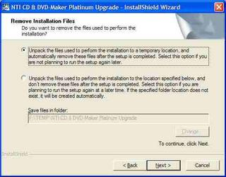 This is one of the few installers that explains itself clearly (Click to view larger image)
