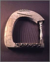 No! - Not this kind of harp!