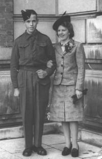 Mom and Dad's Wedding, 1943