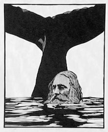 From a woodcut by Barry Moser