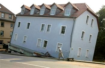 See what happens with faulty foundations!