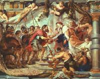 The Meeting of Abraham and Melchizedek by Rubens