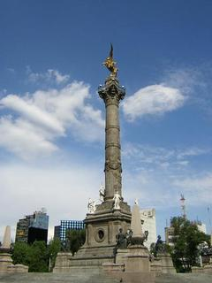 El ángel de la Independencia.