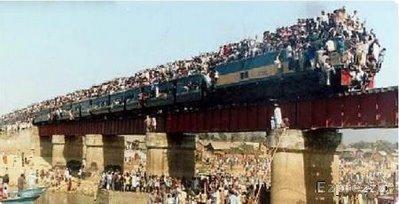Train overload