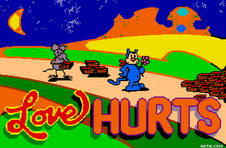 Funny love hurts