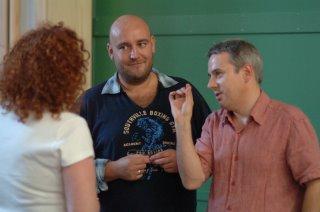 Giselle Allan, Jeff and Richard Farnes