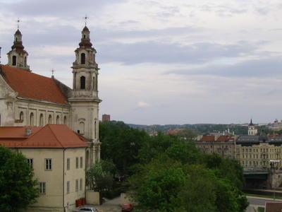 central part of Vilnius