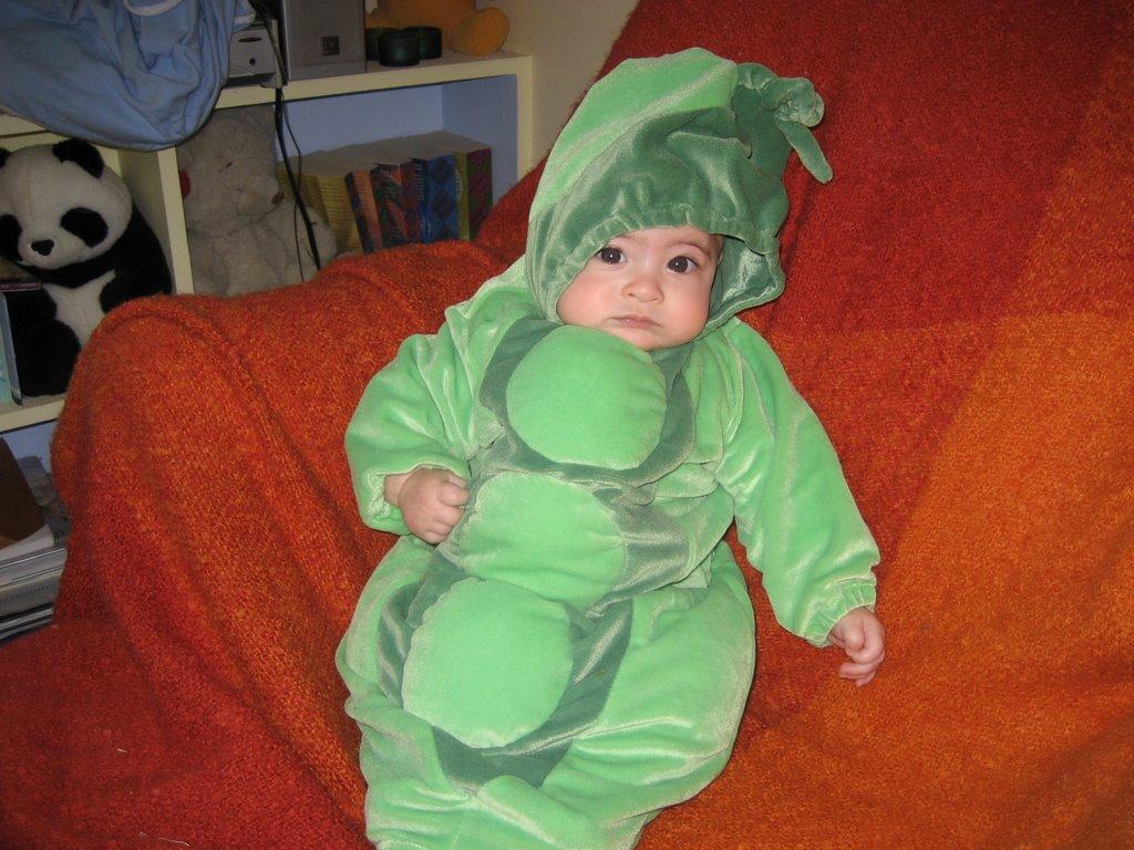 mama sarahndipity: baby's first halloweensort of.