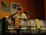 M. Barriuso en la rueda de prensa
