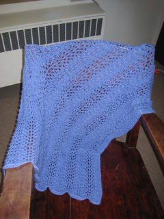 Eve's shawl