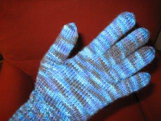 First glove