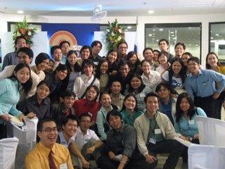 Mga pumapasok kahit walang pasok... MVP Inauguration July 24, 2006