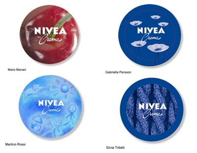 Image result for NIVEA tin different designs