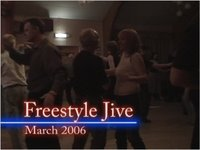 Freestyle Jive dancing at Bromborough