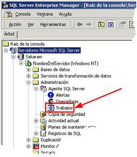 Consola SQL Server