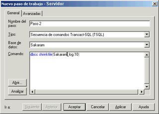 SQL Server - Paso 2