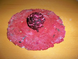 Stuffing  beetroot mixture