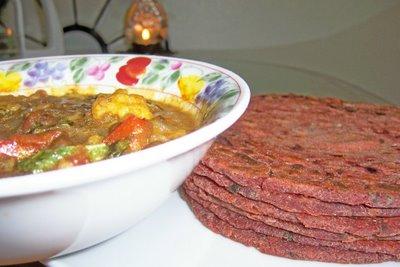 Ready to eat Partas &  ChickPeas -Cauliflower gravy