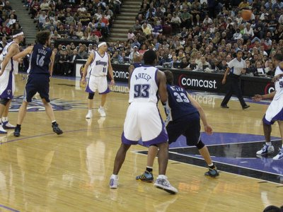 Sacramento Kings Ron Artest
