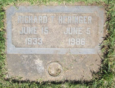 Richard Thomas Heringer Gravesite