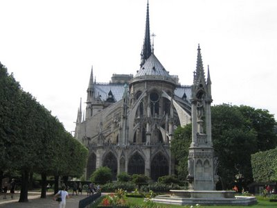 Norte-Dame de Paris Back