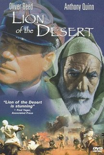 ©1981 - Lion of the Desert DVD Cover