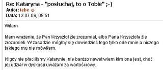 Dementi Gazeta.pl