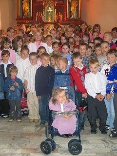 Magda Buczek i dzieci