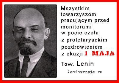 Lenin na 1 maja