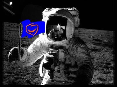 Platforma Obywatelska na księżycu