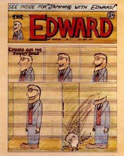 Portada que realicé para el disco Jamming with Edward, grabado durante las sesiones de Exile on main street. Un saludo para los lectores de ESTUFACTO