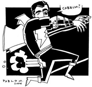 Dibujo de Pablo Mayer para Cabuuum
