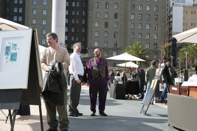 San Francisco Union Square Art Display