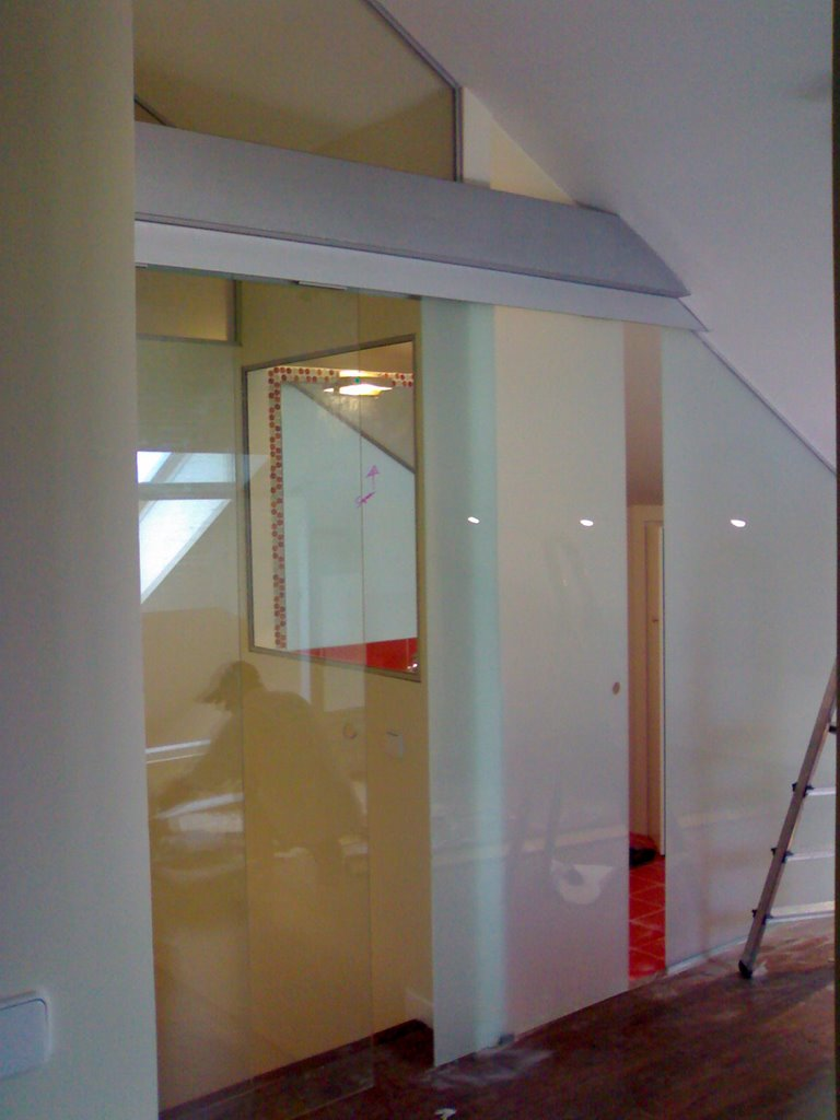 Trabajos - Puertas para escaleras ...