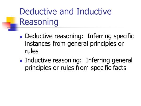 Define deductive research