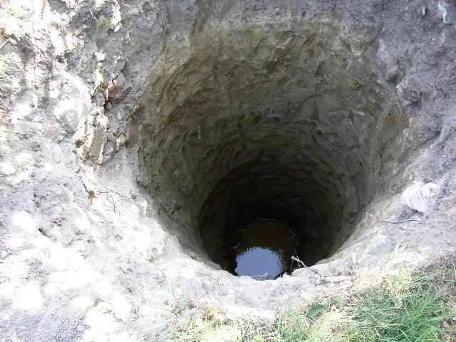 Unser Hausbau Tagebuch Brunnen Graben