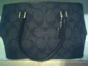 How to NOT Buy Fake Coach Handbags  Update - Wool signature bag 8d68fcfc82