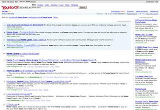 Yahoo Search Marketing - fourth position