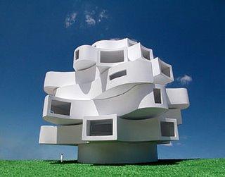 Wind Shaped Pavilion, de Michael Jantzen