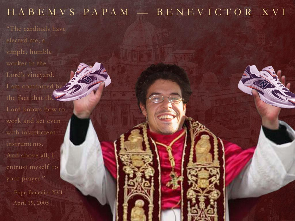 el papa BENEVICTOR XVI