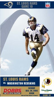 Rams Season Ticket Designs Feature St Louis Attractions