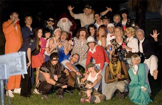 group pic at Friday's Halloween party